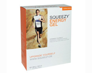 SQUEEZY ENERGY GEL ENERGIZANTE BOX 12 UNID RASPBERRY